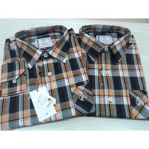 Camisas Country Masculinas Xadrez Muares Muladeiros 100% Alg