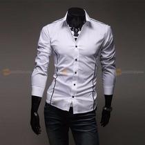 Camisa Social Muscle Line