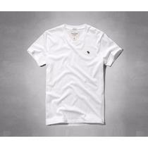 Camiseta Abercrombie Classic Fit V-neck Tee Original