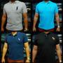 Camisetas Polos Luxo Griffe Multimarcas-kit Com 5 Camisas