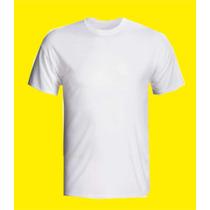Camiseta Para Sublimação 100% Poliester E Ganhe Brinde