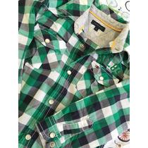 Camisa Infantil Manga Comprida Tommy Hilfiger
