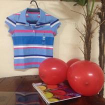 Camiseta Polo Infantil - Tommy Hilfiger - Menina