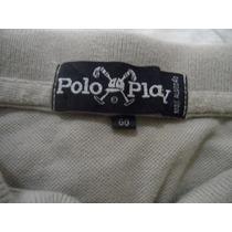 Camisa Polo Ciza Claro Tamanho Gg Da Polo Play
