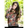 Camisa Social Toque De Seda Marrom E Vermelho - 1031