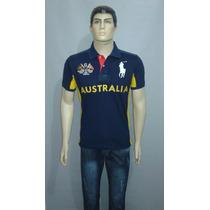 Camisa Polo Halph Lauren Edição País Austrália