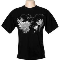 Camisa, Camiseta Cavaleiros Do Zodíaco Frete Grátis!!!