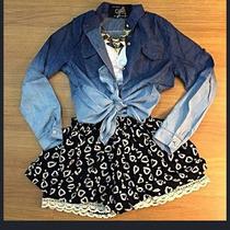 Kit Feminino Camisa Degradê + Shorts