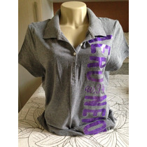 Camisa Polo Aeropostale Feminina