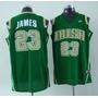 Regata Lebron James Raridade Irish Cleveland Cavaliers Heat
