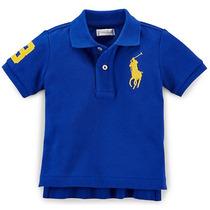 Camisa Gola Polo Infantil Ralph Lauren Original