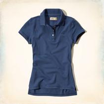 Camisa Camisetas Feminina Pólo Abercrombie & Fitch Hollister
