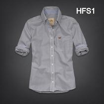 Hollister Camisas Social Feminina Modelos Tamanhos M G