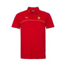 Camisa Polo Puma Ferrari Sf Rosso Corsa G - Original