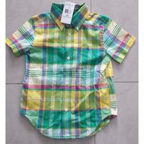 Camisa Social Xadrez Ralph Lauren Original - 3 Anos
