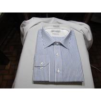 Camisa Raphy Ref.511522 M L Classic Tam. 4(42) Cor List Az 1