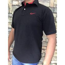 Promoção! Camisa Camiseta Polo Nike T. P M G Gg Varias Cores