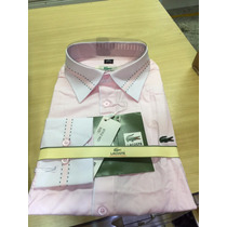 Camisa Social Lacoste Masculina