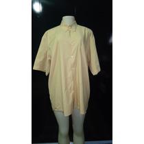 Camisa Social Masculina Pool - 41-42 - Bege - Frete Grátis