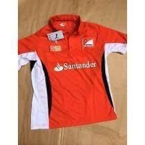 Não Perca Camiseta Polo Ferrari F1 Santander Scuderia