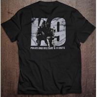 Camiseta K9 Police Original - Preta