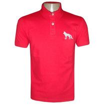 Camisa Polo Acostamento Vermelha Ac101