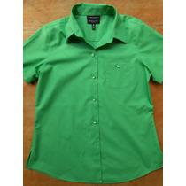 Camisa Blusa Feminina Importada Foxcroft Tamanho Especial G