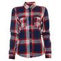 Camisa Xadrez Feminina Abercrombie & Fitch Blacket