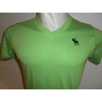 Camiseta Abercrombie & Fitch 100% Original Legitima Grande