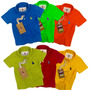 Kit 6 Polo Infantil Camisas, Qualid. Importada Original