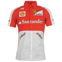 Camisa Polo Puma Team Ferrari
