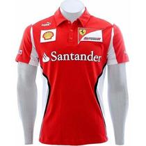 Camisa Pólo - Puma Ferrari - Frete Grátis