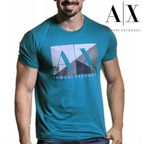T-shirt Armani Exchange Original Masculina Camiseta Brasil