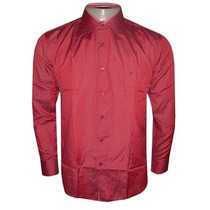 Camisa Social Slim Fit Aramis Manga Longa Vinho A754 Orig.
