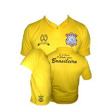 Camisa Pólo Do Corinthians Edição Comemorativa E Limitada