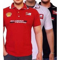 Camisa Polo Da Ferrari Masculino