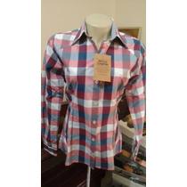 Camisa Feminina Xadrez Country Estilo Country