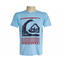 Camiseta Quiksilver Surf Várias Cores E Tamanhos