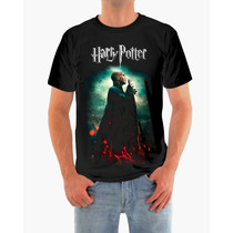 Camisa Harry Potter E Voldemort