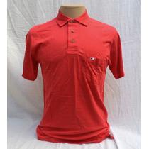 Camisa Polo Masculina Vermelha Algodão Pima Loja Elle Et Lui