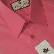 Camisa Social Slim Fit 100% Algodão Fio 50 Extra 51 1010