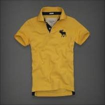 Camisa Polo Masculina Camiseta Abercrombie Fictch F.gratis..
