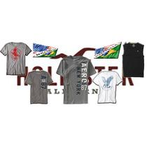 Imperdível Cinco Camisas De Marcas 100% Originais.