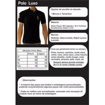Roupas Para Revender 12 Camisas Polos Luxo Frete Gratis