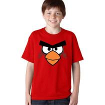 Camisa Infantil Angry Birds