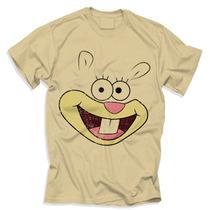 Camisa Sandy- Bob Esponja Desenho Animado Moda Unisex