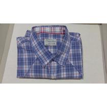 Camisa Masculina Angelo Litrico Xadrez Tm/ 5