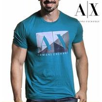 T-shirt Armani Exchange Original Masculina Camiseta Sem Juro
