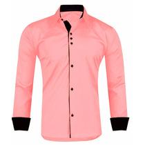 Camisa Social Masculina Slim Fit - Pronta Entrega