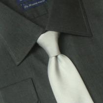 Camisa Social Masculina Fio 50 100% Algodão 01 1023